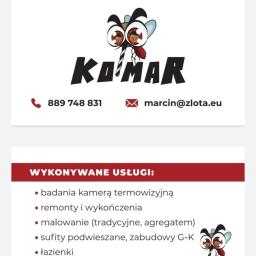KOMAR - Remonty mieszkań Złota