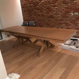 Stół Rozkładany dębowy