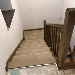 schody na beton z wiązu