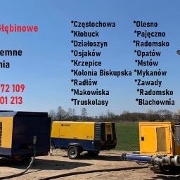Studnie głębinowe , studnie wiercone, Częstochowa , Wieluń , Radomsko , Osjaków , Działoszyn , Pajęczno , Makowika , Olesno , Radłow , Blachownia , Mstów , Dąbrowa Zielona