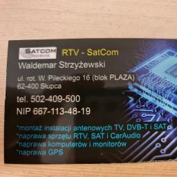 ZUH RTV-SatCom - Ustawienie Anteny Satelitarnej Słupca
