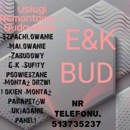 E&K bud usługi remontowo-budowlane - Firma remontowa Kielce
