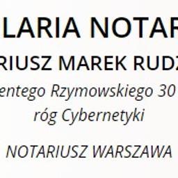 KANCELARIA NOTARIALNA - NOTARIUSZ MAREK RUDZIŃSKI - Notariusz Warszawa