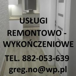 Usługi Wykończeniowo-Remontowe Grzegorz Nowacki - Remonty Wrocław