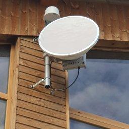 Montaż oraz zestawienie radiolinii LTE operatora komórkowego POINT-POINT do internetu