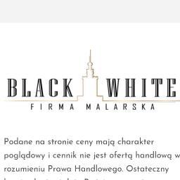 Black and White - Malarz Warszawa
