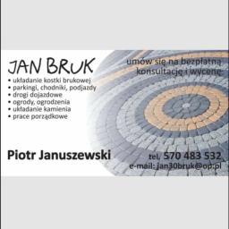 Jan bruk - Brukowanie Gdańsk