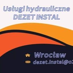 USŁUGI HYDRAULICZNE DEZET INSTAL - Instalacje sanitarne Wrocław