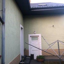Malowanie Hydrodynamiczne Maciej Kasprzyk - Fasada Domu Malbork