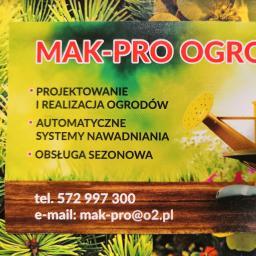 Mak-Pro Ogrody Radosław Mąkola - Projektowanie Krajobrazu Smardzewice