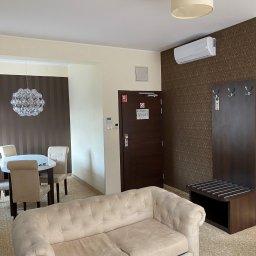 Instalacja jednostka wewnętrzna - apartament hotelowy  Hotel Rycerski, Gniew.