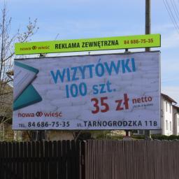 Studio Reklamy Nowa Wieść - Materiały reklamowe Biłgoraj