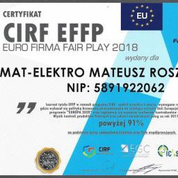 MAT-ELEKTRO MATEUSZ ROSZKOWSKI - Elektryk Kartuzy