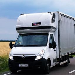 Nasz kolejny BUS, który realizuje transport dla klienta - Opel Movano Winda (8 paletowy).