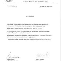 Lotos Poligrafia Sp. z o.o. - Oprawianie Dokumentów Warszawa
