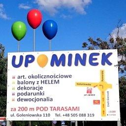 UPOMINEK - balony z helem, dekoracje - Agencje Eventowe Szczecin