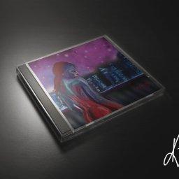 Projekt okładki płyty CD, digital painting