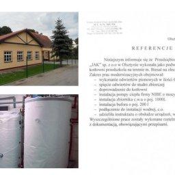Odwierty i montaż pompy ciepła w przedszkolu publicznym w Biesalu (gm. Gietrzwałd)