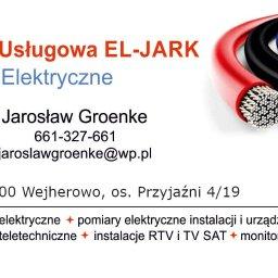 Firma Usługowa EL-JARK Jarosław Groenke Usługi Elektryczne - Alarmy 84-200 Wejherowo