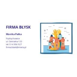 Firma Błysk - Sprzątanie Biurowców Frydrychowice