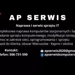 AP Serwis komputerowy - Firma IT Wieruszów