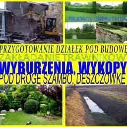 FHU WB - Prace działkowe Kraków