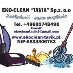 """Sp.z. o.o Eko-Clean """"TaVik"""" - Mycie okien Gdańsk"""