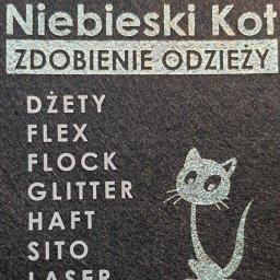 STUDIO GRAFICZNE NIEBIESKI KOT ADAM KOSOWSKI - Nadruk Odblaskowy Łódź