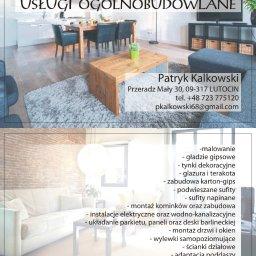 USLUGI OGOLNOBUDIWLANE PATRYK KALKOWSKI - Remonty mieszkań Gdańsk