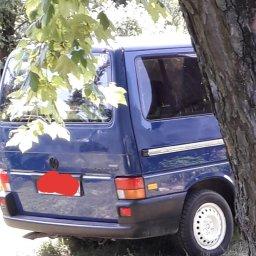 Granatowy VW - Koszenie Trawy Puławy