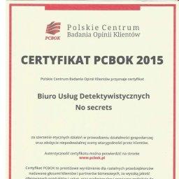 Biuro Usług Detektywistycznych No secrets - Prywatni Detektywi Toruń
