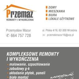 PRZEMAZ - Remont Łazienki Września