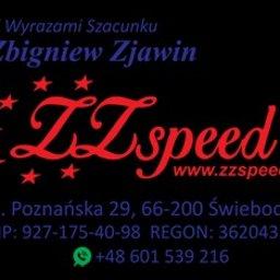 ZZspeed Zbigniew Zjawin - Przeprowadzki Mieszkań Świebodzin