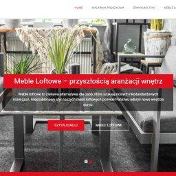 Strona www dla Malarni Proszkowej Malar Żary