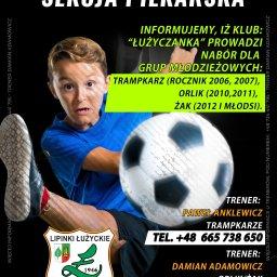 Plakat dla Klubu Piłkarskiego.