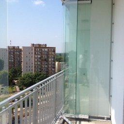 Wykonujemy ściany  składane na balkon lub taras.