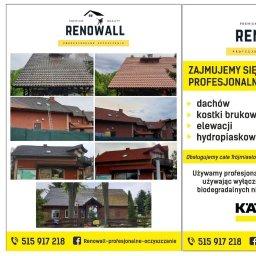 Firma sprzątająca remontowa renowall - Mycie dachów Kielno