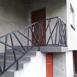 Balustrada industrialna na wymiar ocunkowana i lakieeowana proszkowo