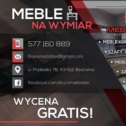 MEBLOTEX RAFAŁ SZLOSARCZYK - Stolarstwo Bestwina