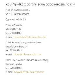 Robi Sp.zo.o. - Gipsowanie Ścian Włoszakowice