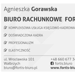 FORTIS biuro rachunkowe Agnieszka Gorawska - Usługi finansowe Wałbrzych
