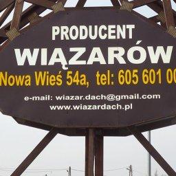 Wiązar Dach Wojciech Jędras - Skład drewna Nowa wieś