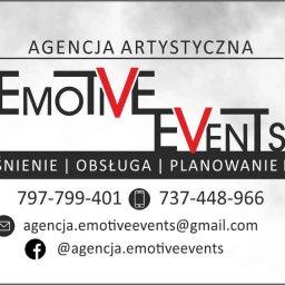 """Agencja Artystyczna """"Emotive Events"""" Maciej Albert - Zespół muzyczny Głubczyce"""