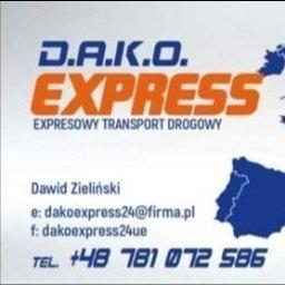 D.A.K.O Express Dawid Zieliński - Transport busem Rogowo