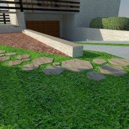 Wizualizacja ścieżki kamiennej