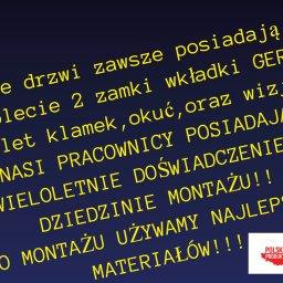 Firma Usługowa - Montaż Drzwi Chorzów