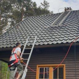 Kompleksowe mycie dachow oraz ich malowanie