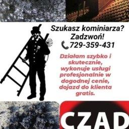 Jacek Wach Kominiarz - Czyszczenie Komina ze Smoły Ostrów Wielkopolski