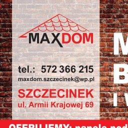 MAX DOM Sp. z.o.o.. - Hurtownia Budowlana Szczecinek