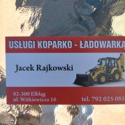Usługi koparko- ładowarki zagospodarowanie terenu - Montaż Ogrodzeń Elbląg